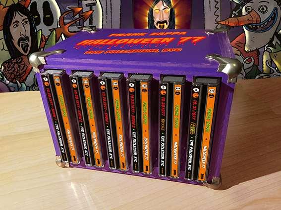 Frank Zappa - New Box Set - 1977 Halloween :: www zappateers com