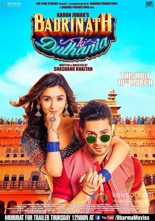 Poster Badrinath Ki Dulhania (2017) Full HD Movie Download 720p