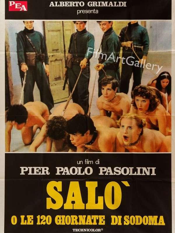 Salò o le 120 giornate di Sodoma Σαλό ή 120 μέρες στα Σόδομα Poster