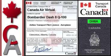 Bombardier Dash 8 Q-100 Certification Flight