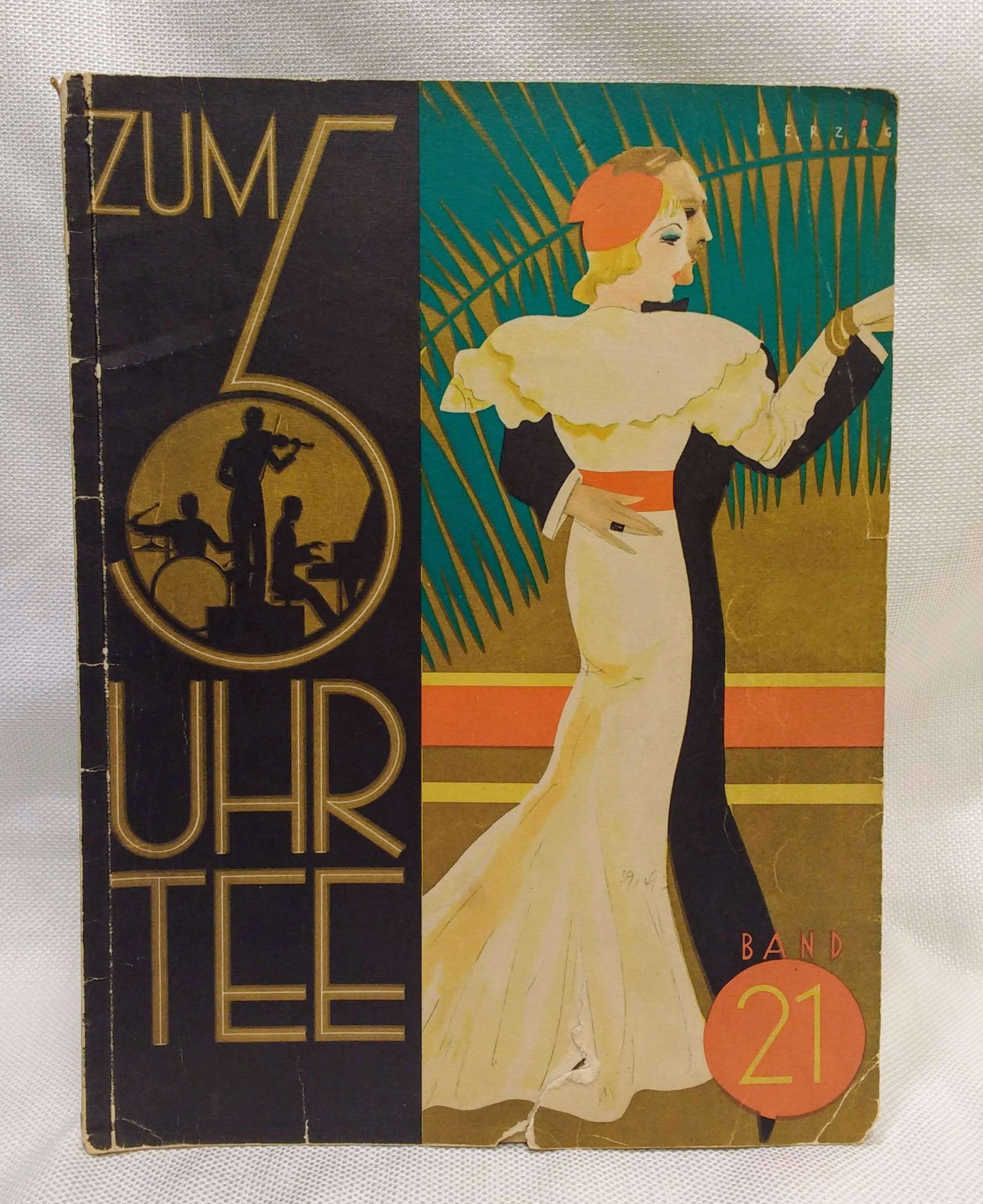 [music] Zum Uhr Tee Band 21 22 Der Bekanntesten Tonfilm-Und Tanz-Schlager