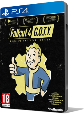 [PS4] Fallout 4: Game of the Year Edition (2017) - FULL ITA