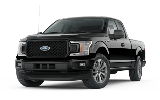 Ford F-150 XL 4x4 SuperCrew  w/STX Package Lease Deal