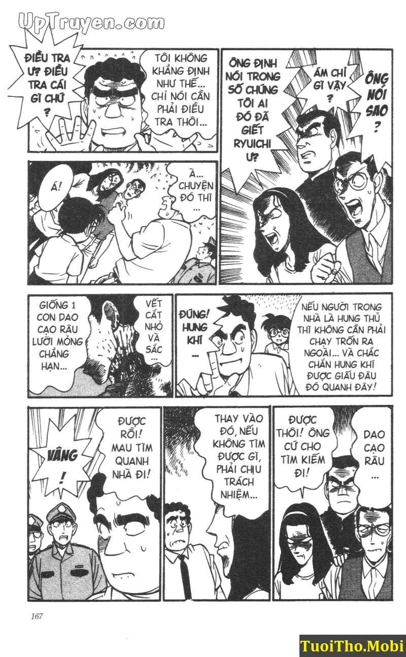 đọc truyện Conan bộ đặc biệt chap 17 trang 12