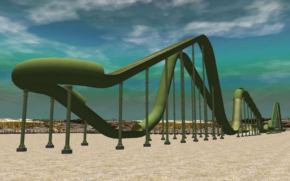 My Downloads - Parks and Coasters - Coaster: Dinghy Slide - Demo Screenshot, Image 02