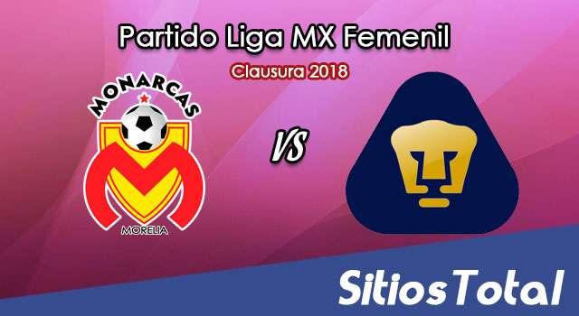 Monarcas Morelia vs Pumas en Vivo – Liga MX Femenil – Sábado 20 de Enero del 2018