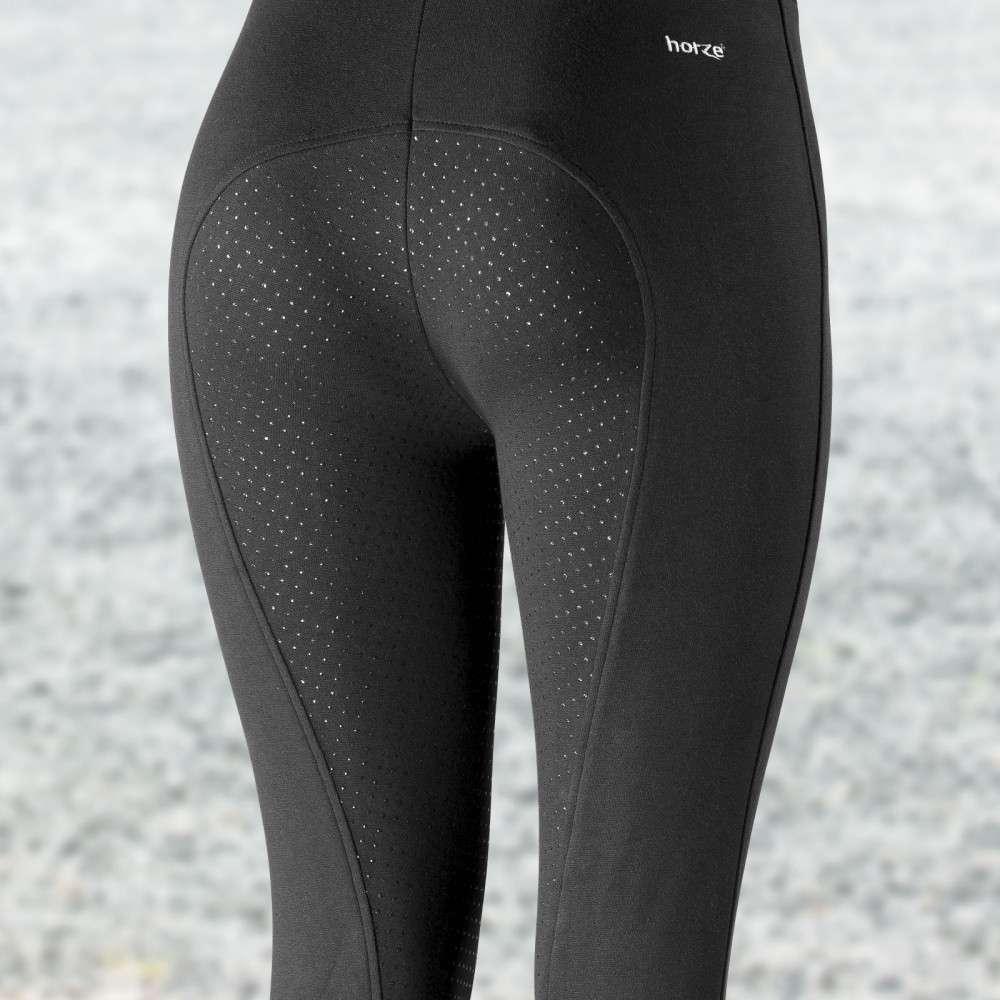 Horze-Women-039-s-Active-Silicone-Grip-Full-Seat-Riding-Breeches-Elastic-Leg-Bottoms thumbnail 31