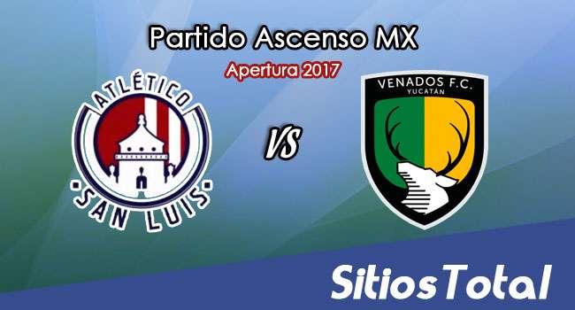 Atlético San Luis vs Venados en Vivo – Jornada 10 Apertura 2017 Ascenso MX – Viernes 29 de Septiembre del 2017