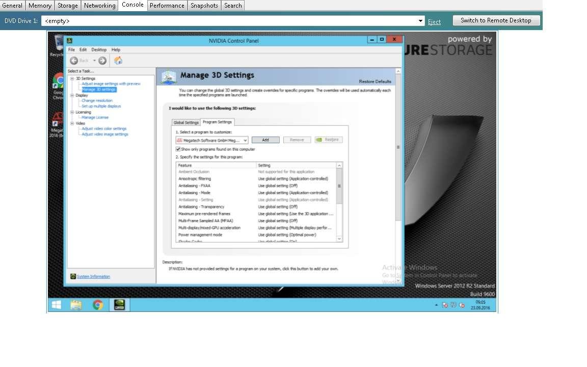 NVIDIA GRID K2-Windows Server 2012 R2-