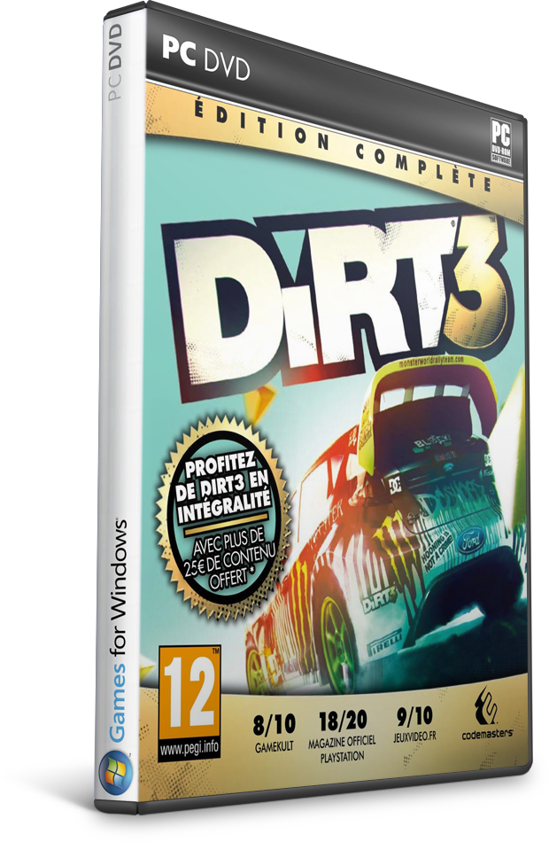 pc dirt 3 complete edition multi5 plaza racing iso. Black Bedroom Furniture Sets. Home Design Ideas