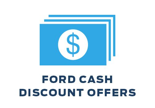 Ford Cash Discount Offers
