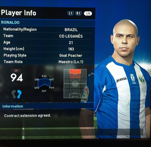 Player Regens [Archive] - PESGaming Forums