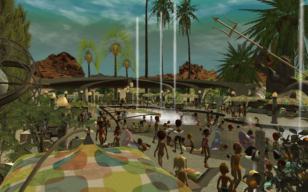 Image 02, My Projects - CSO's I Have Imported, Port Of Entry Themed Pool Complex Extras