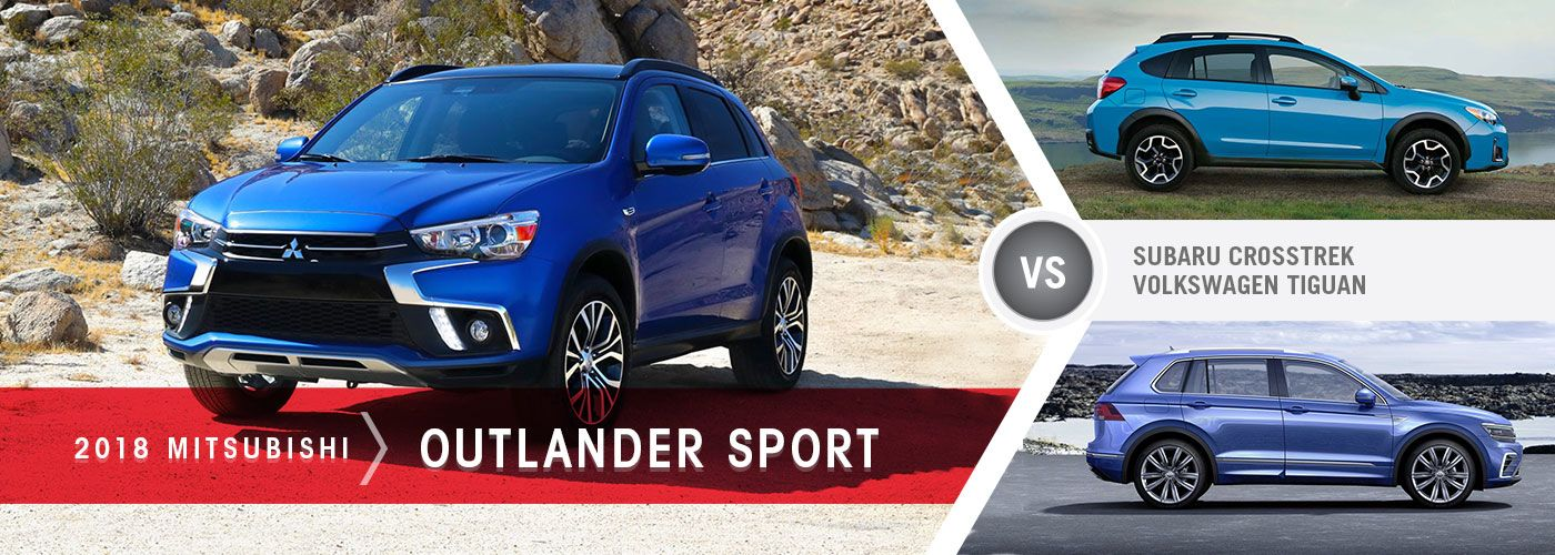 outlander sport vs tiguan vs crosstrek mentor mitsubishi. Black Bedroom Furniture Sets. Home Design Ideas