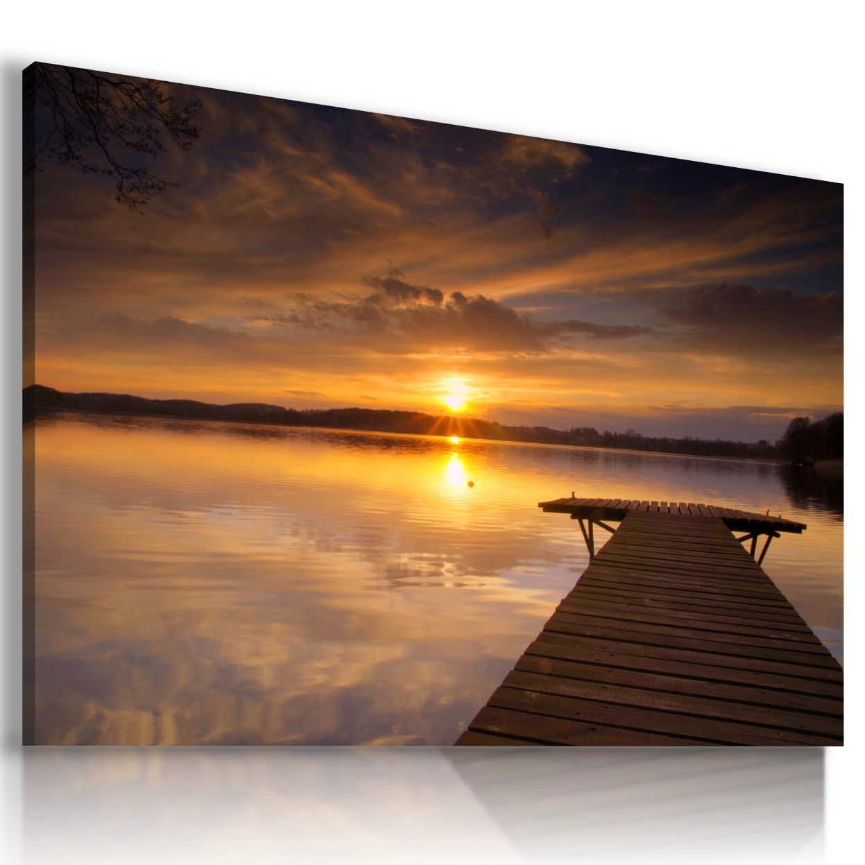 SUMMER FLOWERS SUNNY FIELDS 3D Window View Canvas Wall Art Picture W25 MATAGA