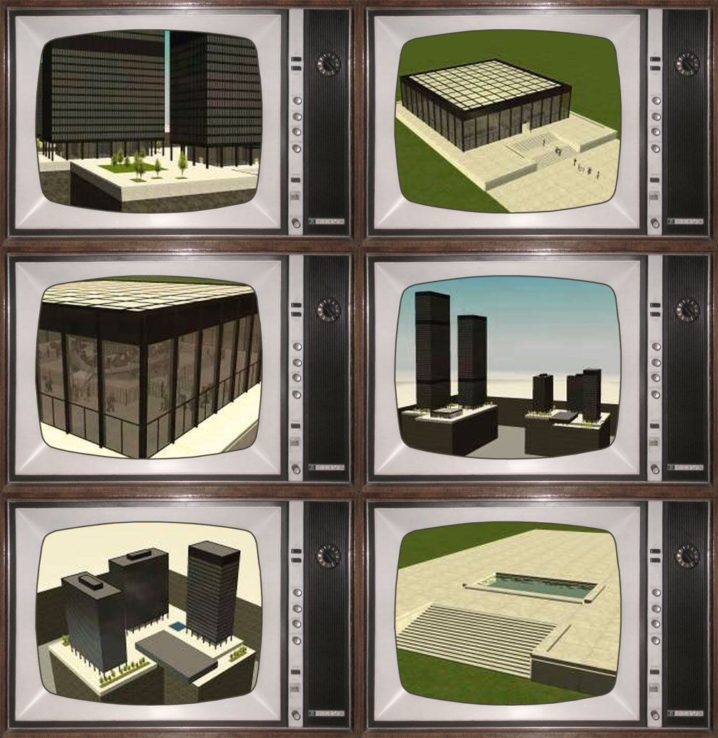 Showcase! Spring 2018 - Spez Mies Wall Set - Image 13: Spez' Screenshots Collage