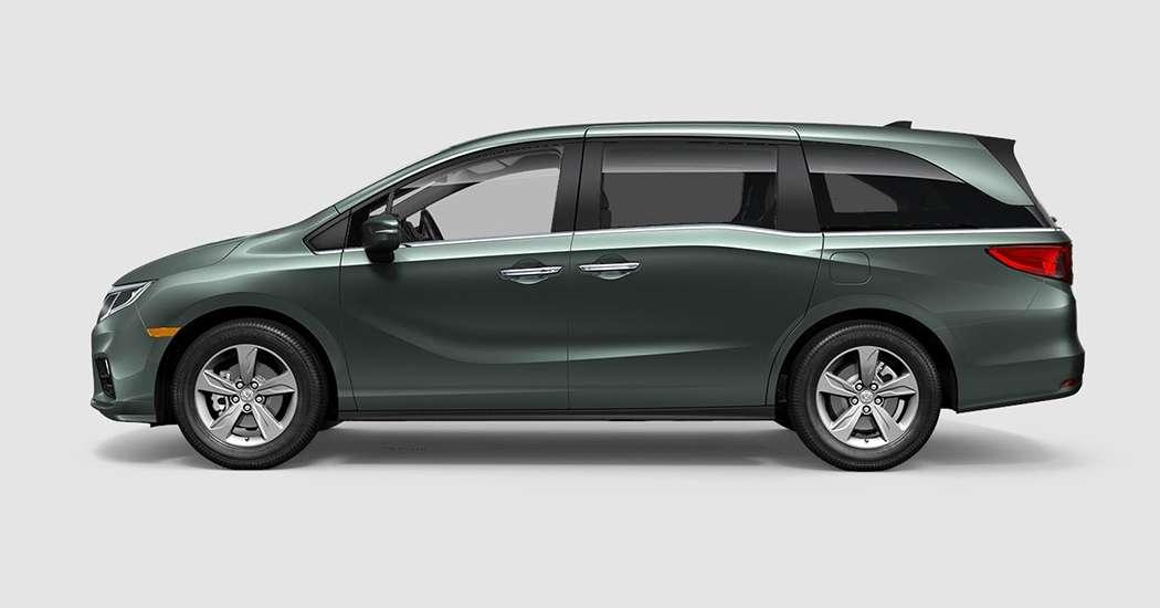 2018 Honda Odyssey EX in Forest Mist