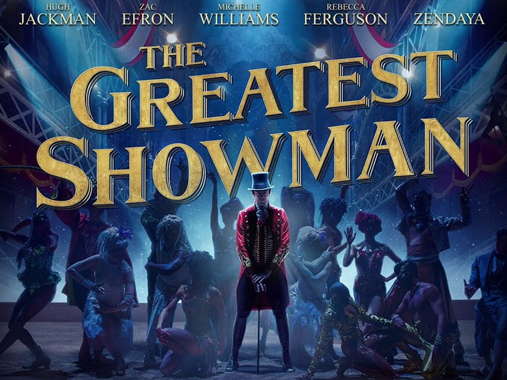 The Greatest Showman Quad Poster Πόστερ