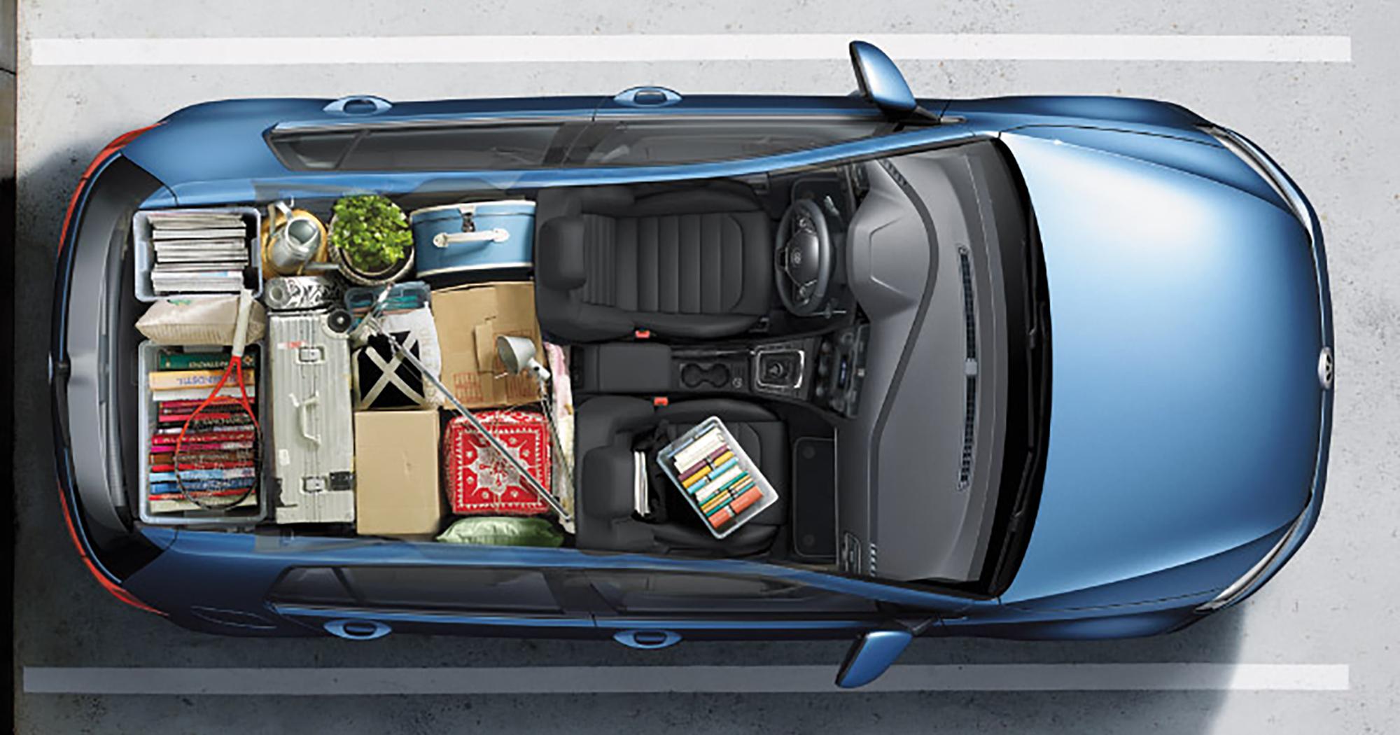 2017 Volkswagen Golf Maximum Cargo Capacity