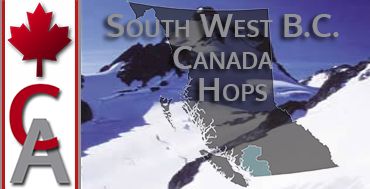 South West B.C. Canada Hops