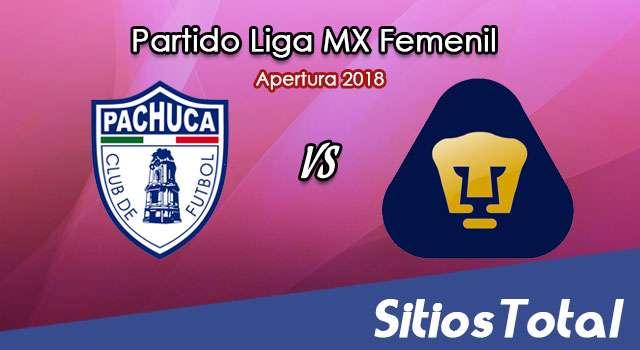 Ver Pachuca vs Pumas en Vivo – Liga MX Femenil – Lunes 6 de Agosto del 2018