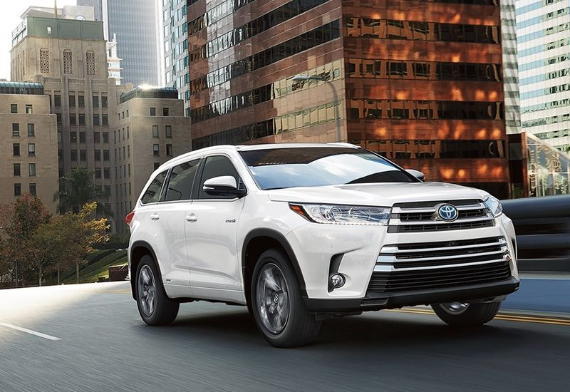 Toyota Highlander Hybrid fuel efficiency