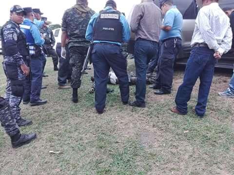 Asesinato Comayagua
