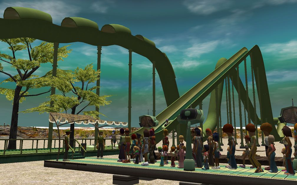 My Downloads - Parks and Coasters - Coaster: Dinghy Slide - Primary Demo Screenshot, Image 01