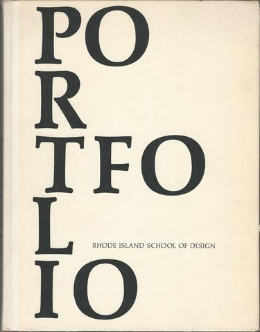 Portfolio Rhode Island School of Design 1962 Yearbook, Class of 1962