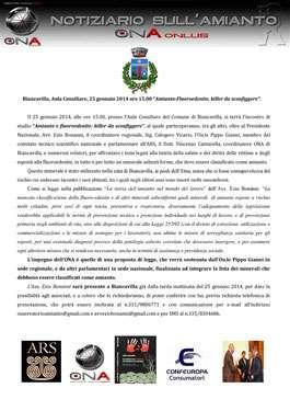 Conferenza Regionale Biancavilla