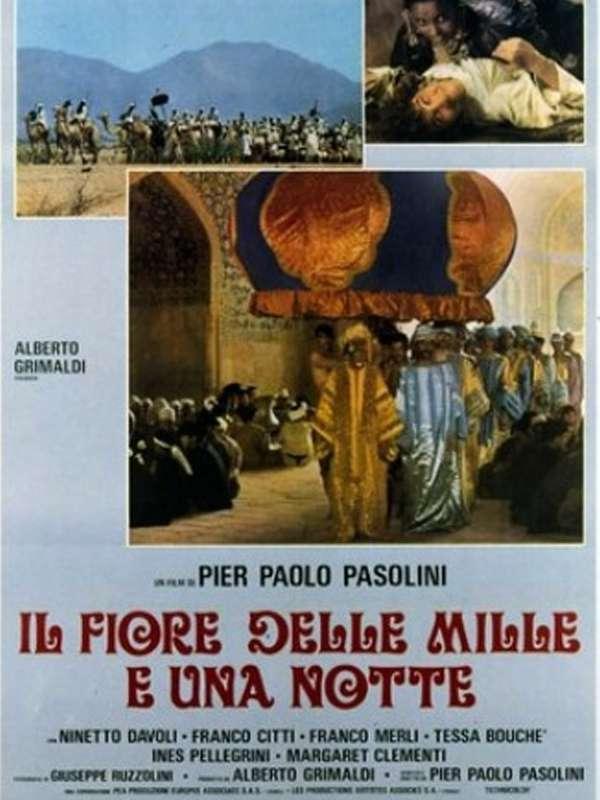 Il fiore delle Mille e una notte Χίλιες και μία νύχτες Poster