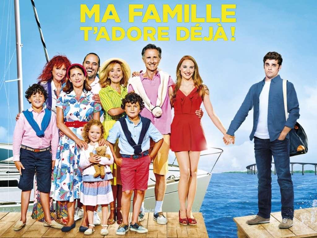 Η Οικογένεια Μου Σε Λατρεύει (Ma famille t'adore déjà) Quad Poster Πόστερ