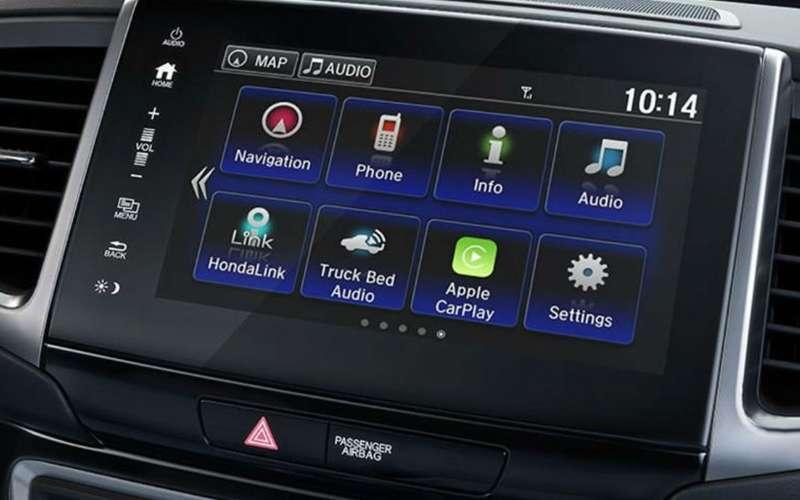 2019 Honda Ridgeline Apple CarPlay Smartphone Integration