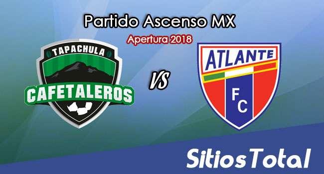 Ver Cafetaleros de Tapachula vs Atlante en Vivo – Ascenso MX en su Torneo de Apertura 2018