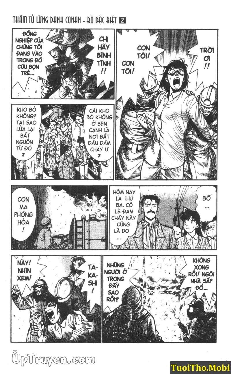 đọc truyện Conan bộ đặc biệt chap 13 trang 2