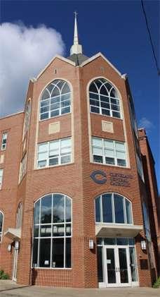 CCCHS Building Entrance