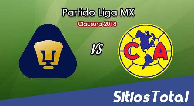 Pumas vs América en Vivo – Cuartos de Final Ida – Liga MX – Miércoles 2 de Mayo del 2018