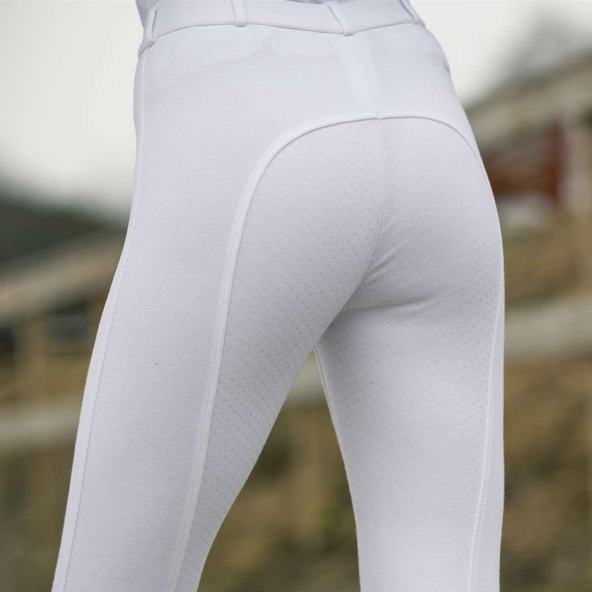 Horze-Women-039-s-Active-Silicone-Grip-Full-Seat-Riding-Breeches-Elastic-Leg-Bottoms thumbnail 20