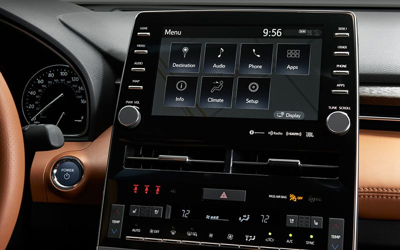 2020 Toyota Avalon Entune Touch Screen