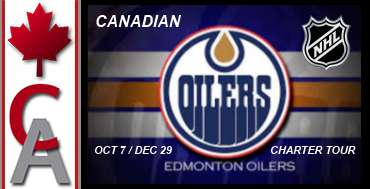 Edmonton Oilers Charter Tour (Part 1)