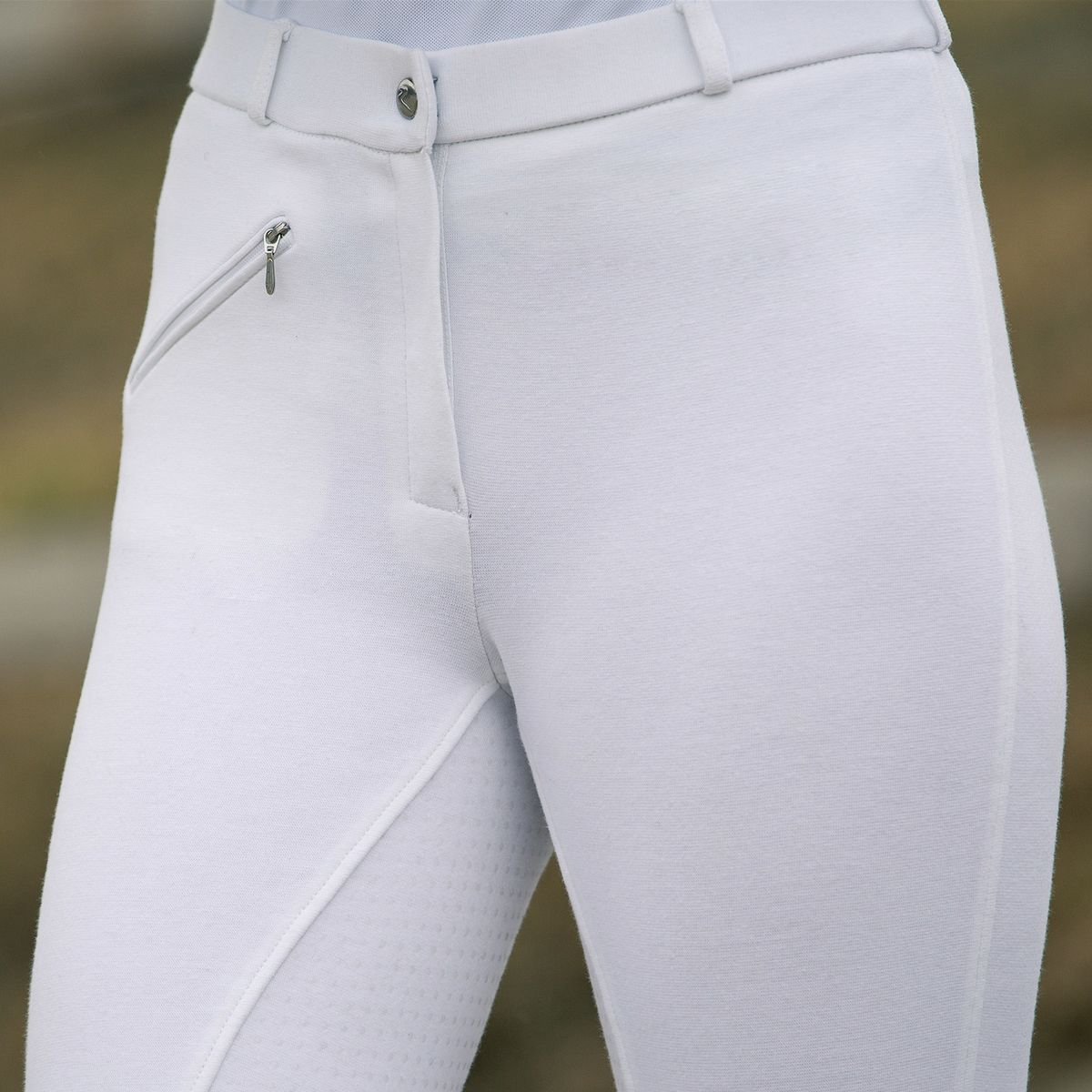 Horze-Women-039-s-Active-Silicone-Grip-Full-Seat-Riding-Breeches-Elastic-Leg-Bottoms thumbnail 18