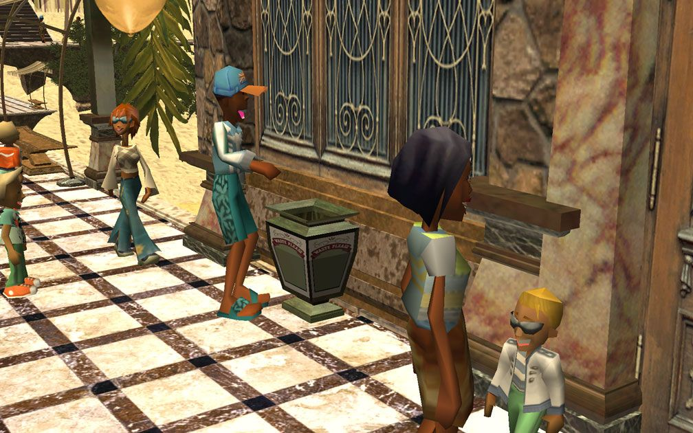 My Projects - CSO's I Have Imported, Path Add-Ons - FTA's Litter Bin (Waste Please) In Use By Guest, Image 05