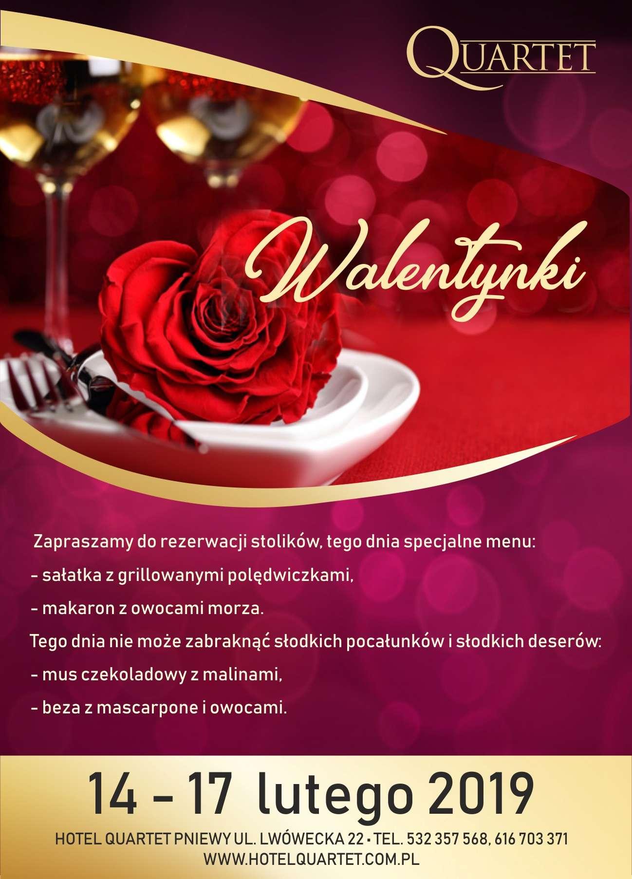 Walentynki wQuartecie