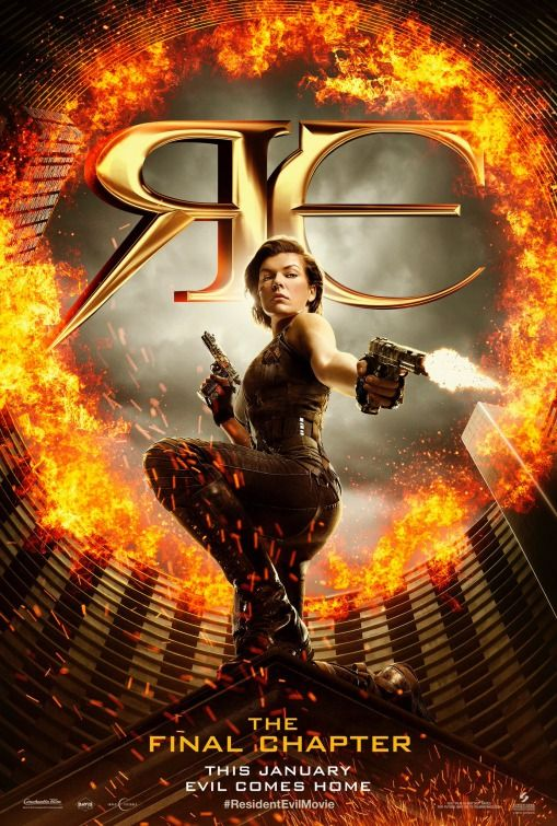 Poster Resident Evil The Final Chapter 2017 Full Dual Audio Movie Download