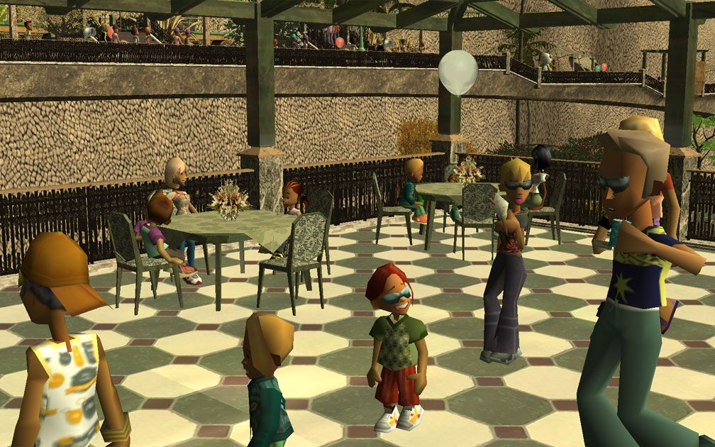 My Projects – CSO's I Have Imported, Café - Dining Tables in Café Setting, Image 06