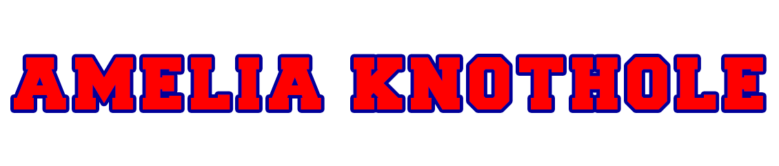 Amelia Knothole Baseball Logo
