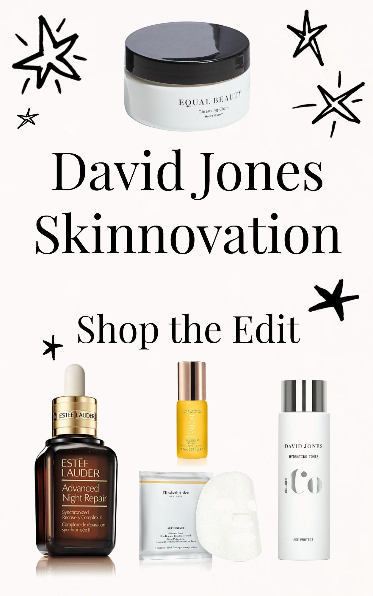 David Jones Skinnovation