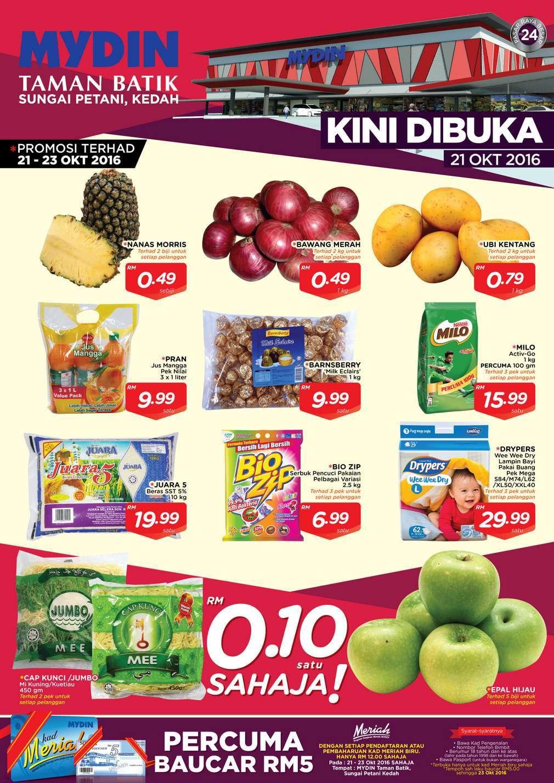 Mydin Catalogue(21 October – 30 October 2016)