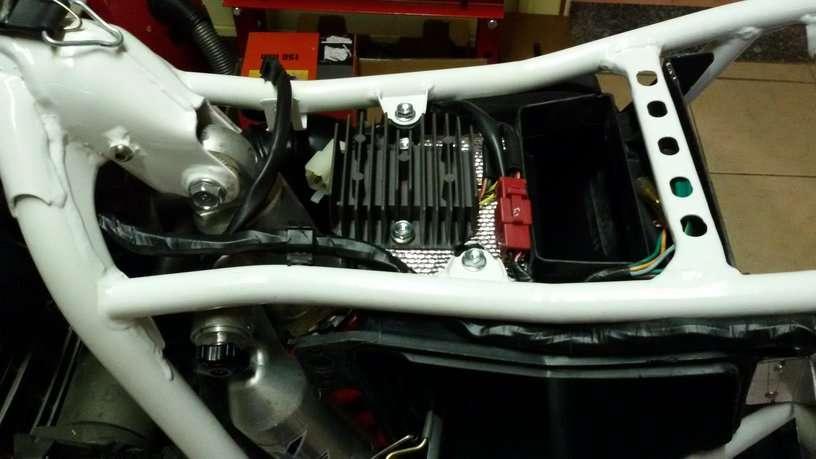 Schema Elettrico Xr 600 : Motore dominator su xr richiesta info impianto elettrico