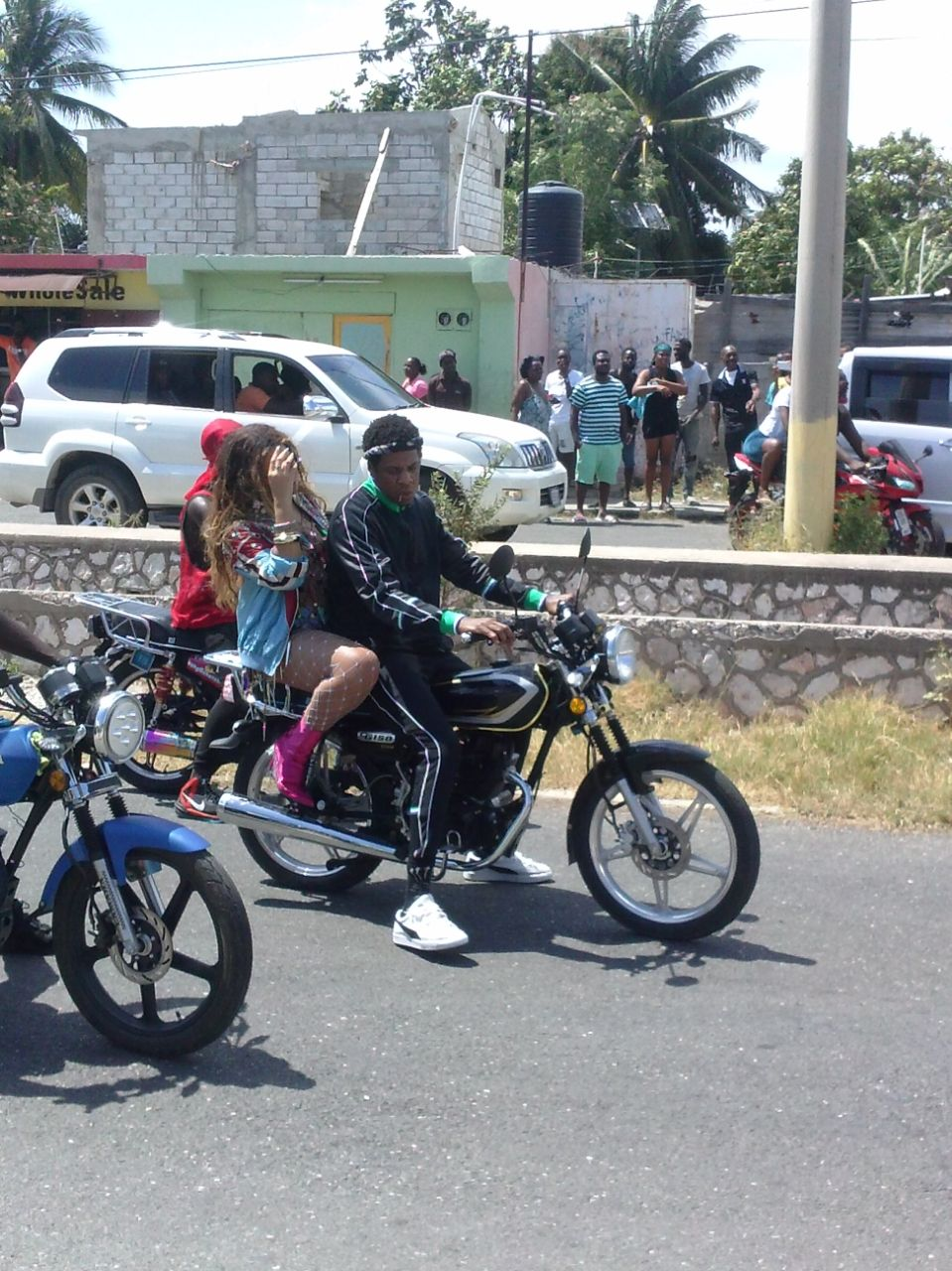 jayz and beyonce in Jamaica